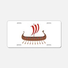 Viking Boat Aluminum License Plate
