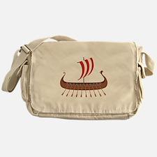 Viking Boat Messenger Bag