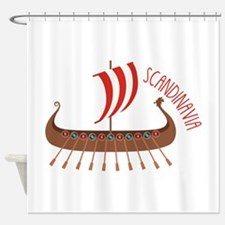 Scandinavia Shower Curtain
