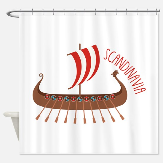 Scandinavia Shower Curtain