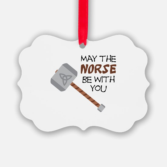 Norse Be With You Ornament