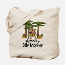 Nonna's Silly Monkey Boy Tote Bag