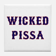 Wicked Pissa Tile Coaster