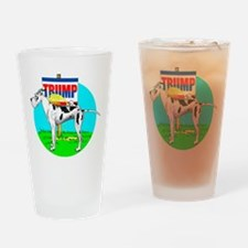 Piss on Trump Harle Dane Drinking Glass