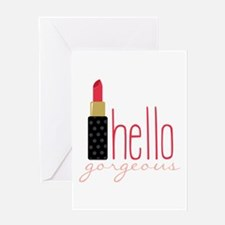 Gorgeous Lipstick Greeting Cards