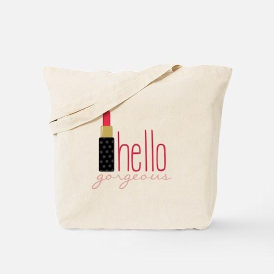 Gorgeous Lipstick Tote Bag
