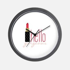 Gorgeous Lipstick Wall Clock