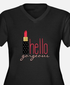 Gorgeous Lipstick Plus Size T-Shirt
