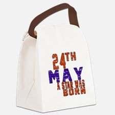 24 May A Star Was Born Canvas Lunch Bag