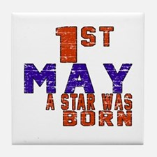 01 May A Star Was Born Tile Coaster
