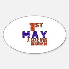 01 May A Star Was Born Sticker (Oval)