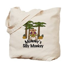 Mommy's Silly Monkey Boy Tote Bag