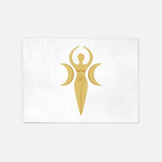 Pagan Goddess 5'x7'Area Rug