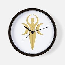 Pagan Goddess Wall Clock