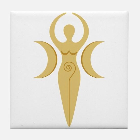 Pagan Goddess Tile Coaster