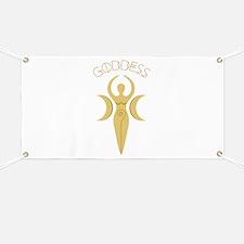 Goddess Symbol Banner