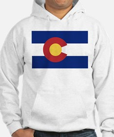 Flag of the State of Colorado Hoodie