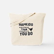 Hapkido More Awesome Martial Arts Tote Bag