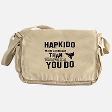 Hapkido More Awesome Martial Arts Messenger Bag