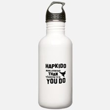 Hapkido More Awesome M Water Bottle