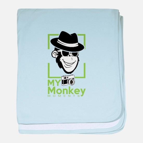 Unique Monkey baby blanket