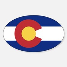 Flag of the State of Colorado Decal