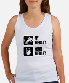 Show Jumping My Therapy Women's Tank Top