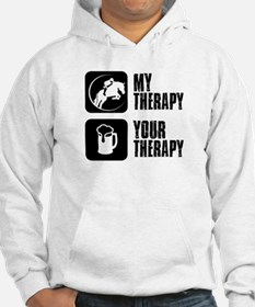 Show Jumping My Therapy Hoodie