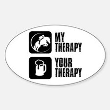 Show Jumping My Therapy Decal