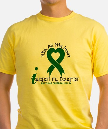With All My Heart Cerebral Palsy T-Shirt