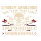 Aircraft mechanic Framed Prints