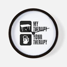 Keyboard My Therapy Wall Clock