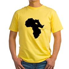 Elephants For Africa White Mens T-Shirt