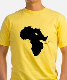 Elephants For Africa White Mens T-Shirt