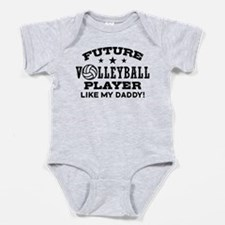 Unique Volleyball kids and Baby Bodysuit