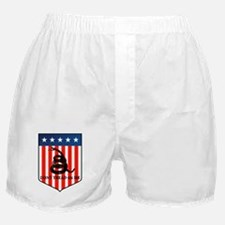 dont tread on me.png Boxer Shorts