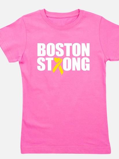 Cute Running boston Girl's Tee