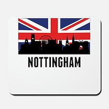 Nottingham British Flag Mousepad