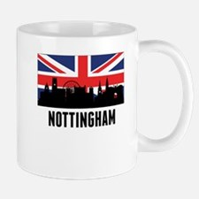 Nottingham British Flag Mugs