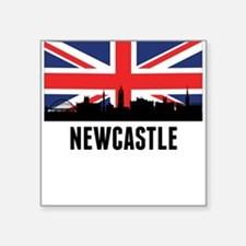 Newcastle British Flag Sticker