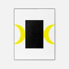 Yellow Triple Goddess Picture Frame