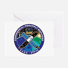 SpX-10 Logo Greeting Cards (Pk of 10)