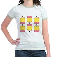 Pencils Jr. Ringer T-Shirt