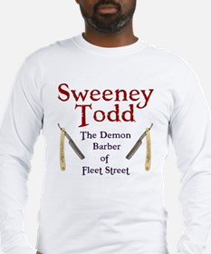 Sweeney Todd Long Sleeve T-Shirt