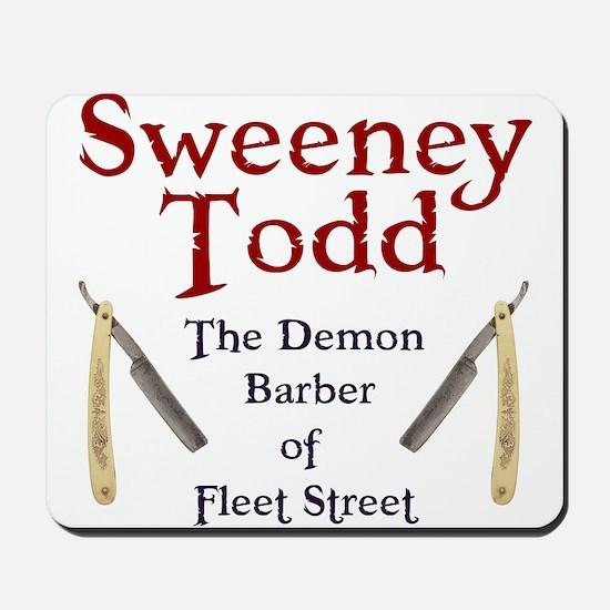 Sweeney Todd Mousepad