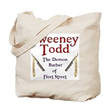 Sweeney Todd Tote Bag