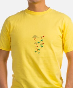 Umbrellas with hearts T-Shirt