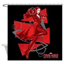 Scarlet Witch Triangles Shower Curtain