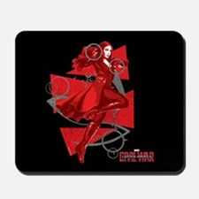 Scarlet Witch Triangles Mousepad