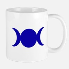 Dark Blue Triple Goddess Mugs